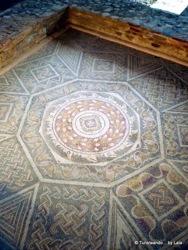 Mosaicos de la Villa Romana de La Olmeda