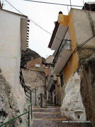 Las empinadas calles de Ayna, en la Sierra de Albacete