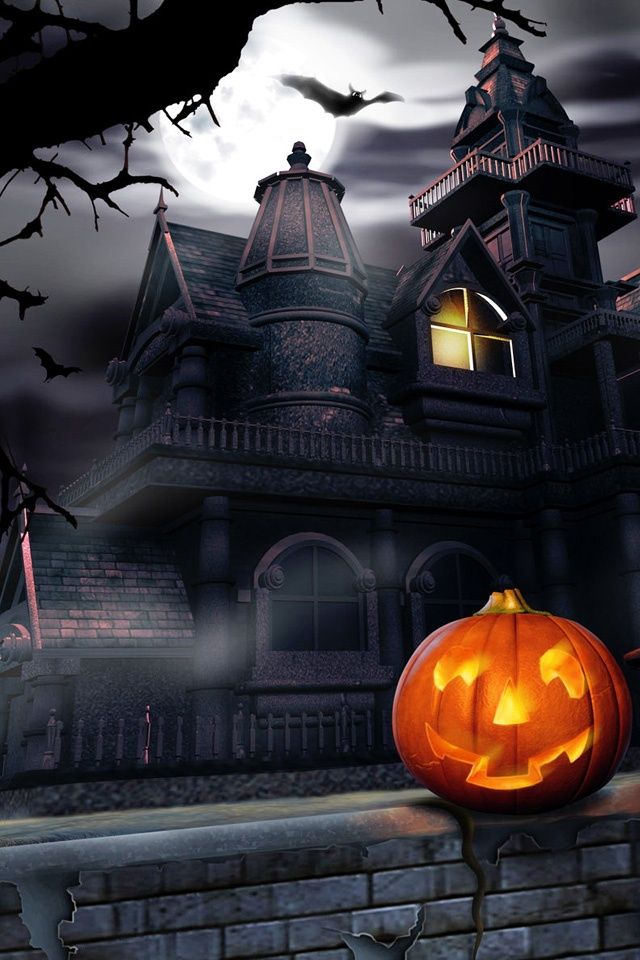 Halloween Pumpkin Carving Wallpapers For iPhone4