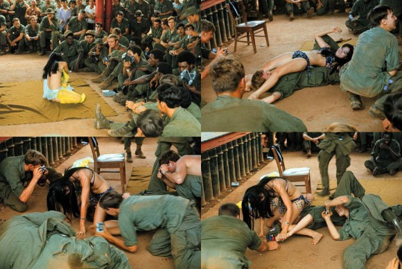 Hình ảnh Show tình dục của lính Mỹ trong chiến tranh Việt Nam