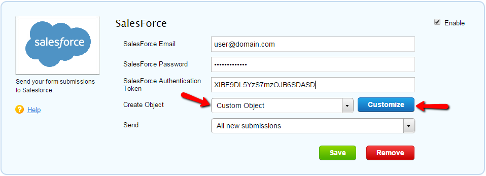 Can I Create Custom Objects In Salesforce Through Submissions
