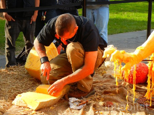 The World Record Pumpkin Carving