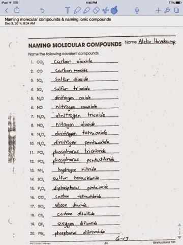 Aleko Hovekamp chemistry blog P1 Moehl: Naming molecular ...