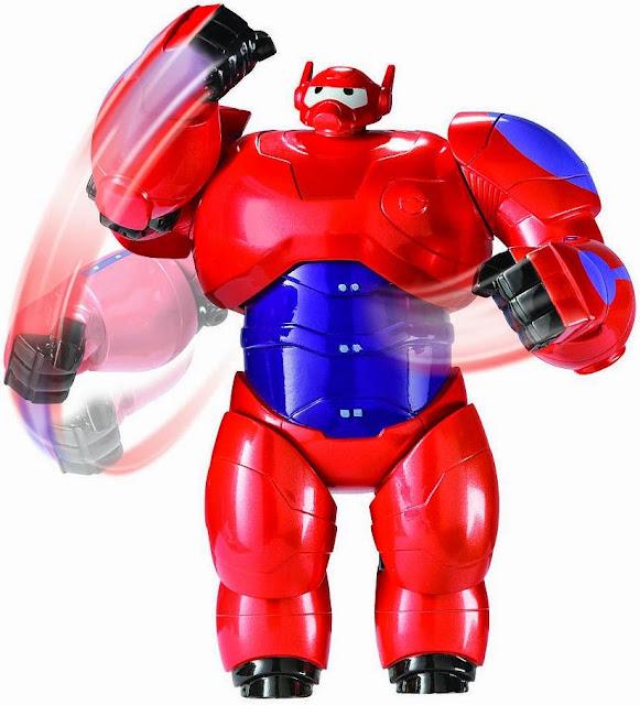 Robot Baymax mang dáng dấp của một siêu anh hùng