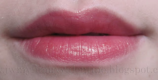 lip swatch NARS Gipsy