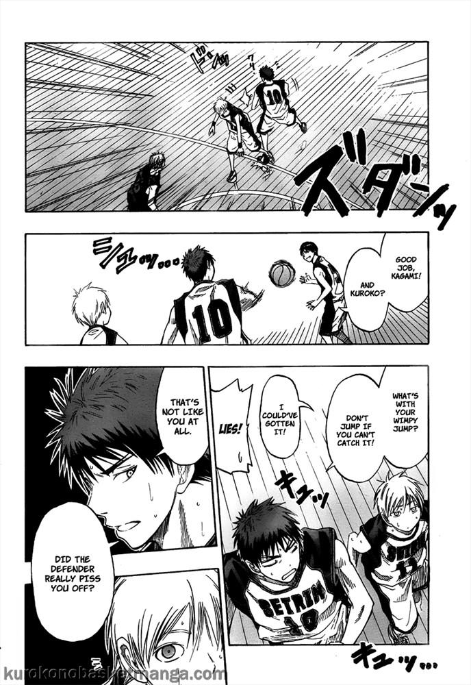 Kuroko no Basket Manga Chapter 43 - Image 16