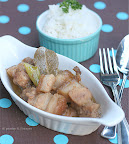 Thumbnail image for Pork Adobo sa Gata {Pork Adobo with Coconut Milk}