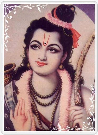 Lord Rama in Vanvasi Rupa