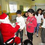 Visita de Papa Noel