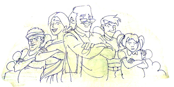 people the boss sketch