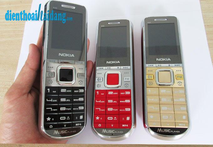 Dien thoai pin khung Nokia K60 K80 K68 K65 admet B30