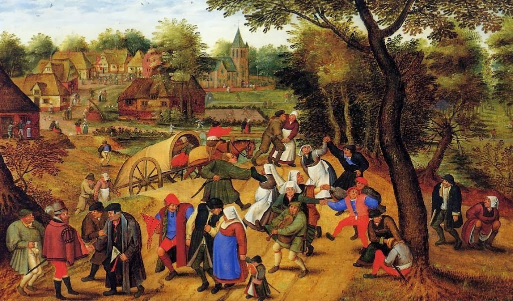 Pieter Brueghel the Younger - The Return of the Fair
