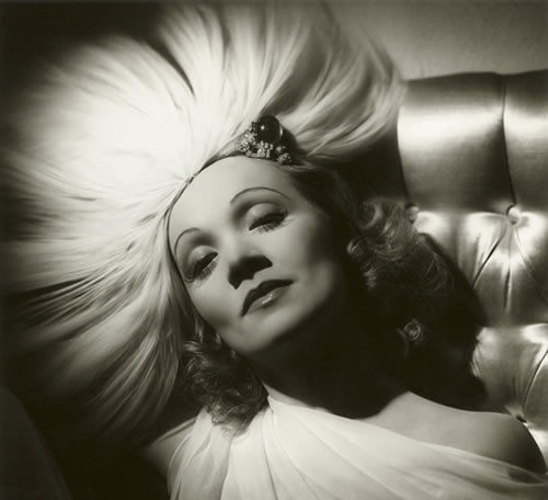 Marlene Dietrich by George Hurrell, 1937