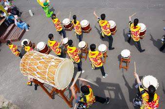 北竜太鼓演奏:響き渡る