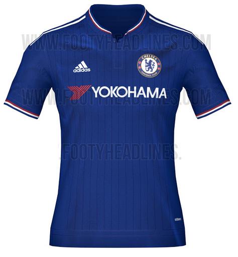 Ao bong da - Áo bóng đá Chelsea 2015 - 2016