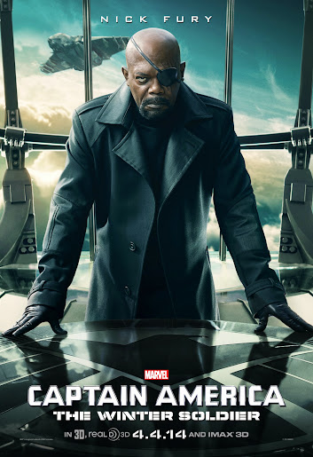 Marvel's Captain America: The Winter Solider - Nick Fury #CaptainAmerica