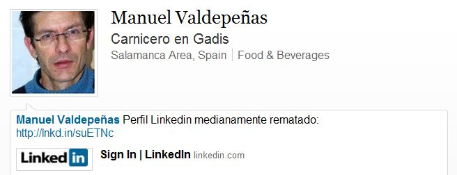 LinkedIn Manuel Valdepeñas