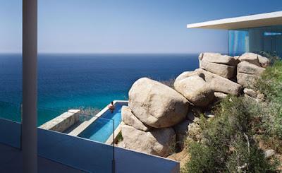 Casa Finisterra 3 Rumah Minimalis Indah Di Tebing Batu