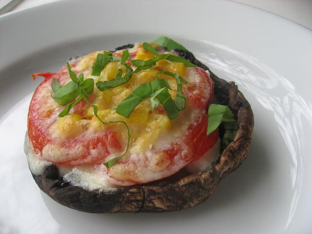 Pizza en champiñón Portobello