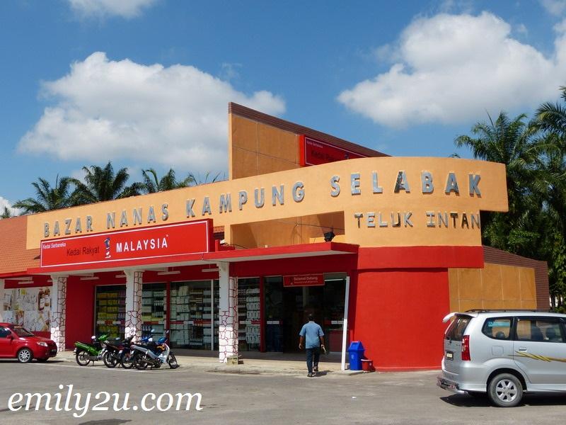 Bazar Nanas Kampung Selabak, Teluk Intan