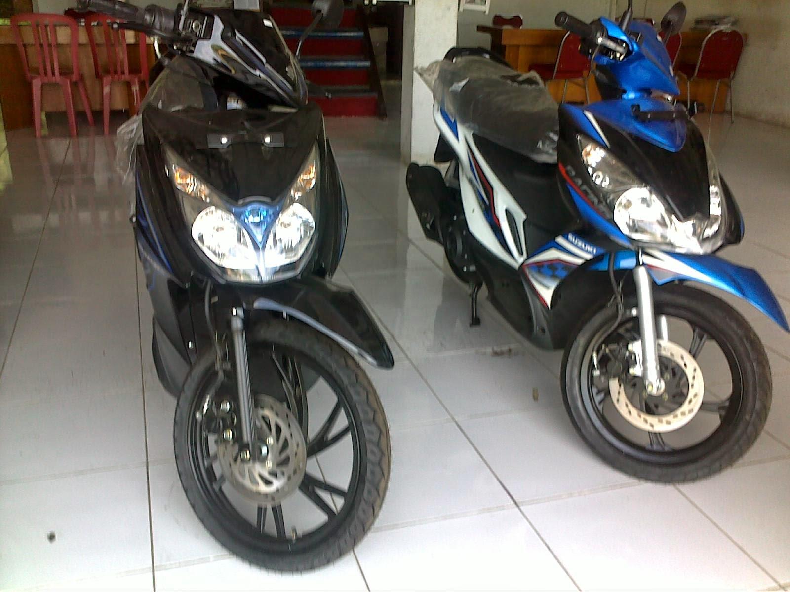 Suzuki Skydrive Modifikasi