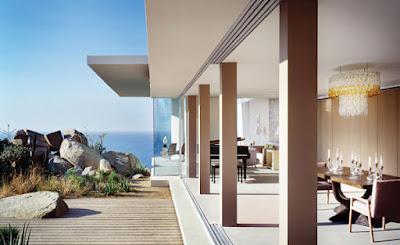 Casa Finisterra 8 Rumah Minimalis Indah Di Tebing Batu