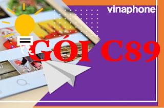 Gói C89 VinaPhone Miễn phí 1.500 phút, 60 phút ngoại mạng, 60 tin nhắn Nội mạng