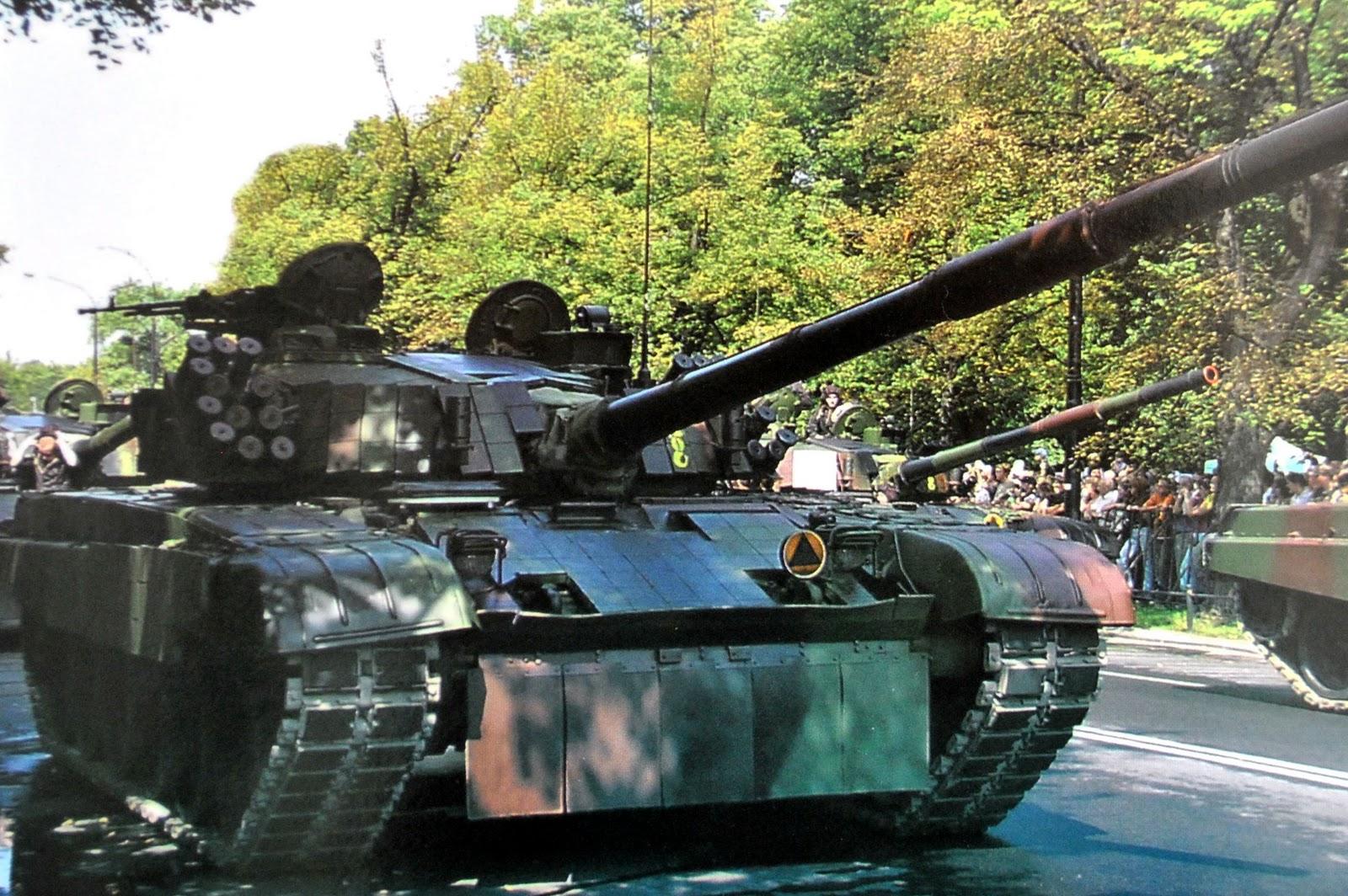 Polski czołg podstawowy PT-91 Twardy