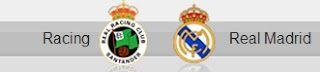 Racing Santander vs Real Madrid