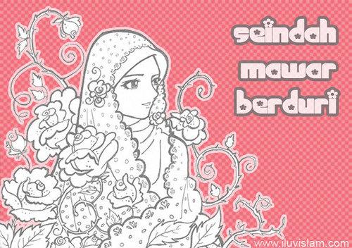 Muslimah, Wanita Solehah, Perempuan Baik, Wanita Pilihan, Comel, Cantik, I Luv Islam, Testi I Luv Islam, Solehah, Ustazah Pilihan