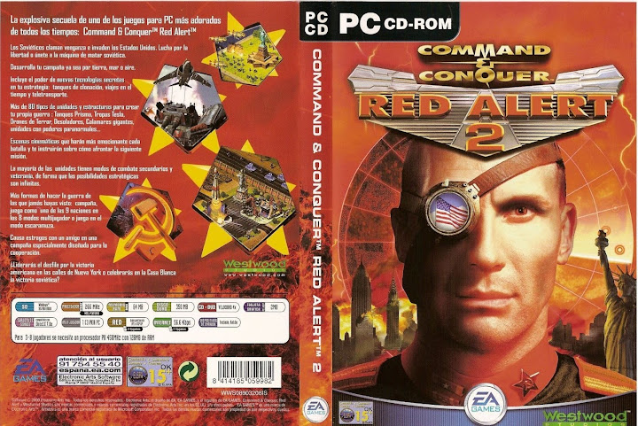 Command & Conquer: Red Alert 2 [Rip][137 MB][1 Link]