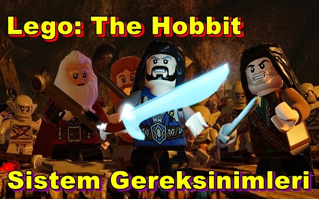 Lego: The Hobbit PC Sistem Gereksinimleri
