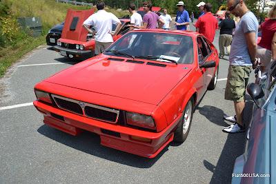 Lancia Montecarlo front end