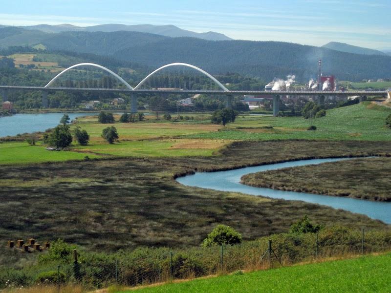Brücke bei Navia