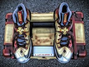 timeline 130604 shoe lebron10 custom ironman 2012 13 Timeline