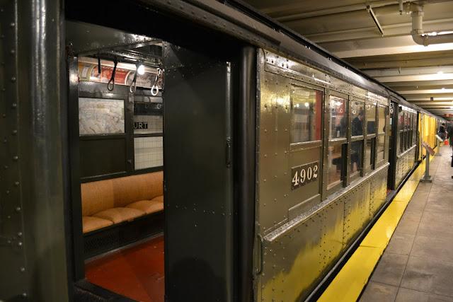 IRT Low Volage Trailer 1917 года. Транспортный музей Нью-Йорка (New York Transit Museum, NYC)