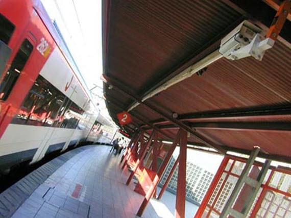 Obras en la estación de San Cristóbal Industrial, línea C3 de Cercanías