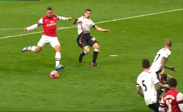 Podolski, Arsenal - Liverpool
