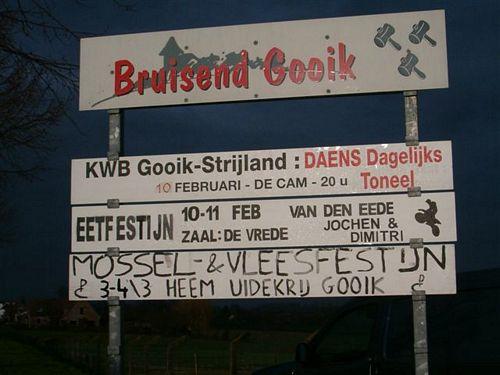 KWB Gooik & Strijland nodigen uit...