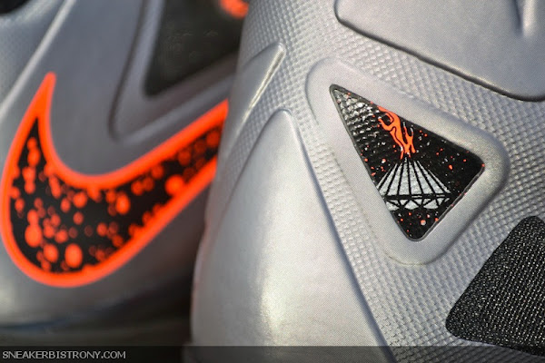 Detailed Look at Lava Nike LeBron X That Drops on Saturday