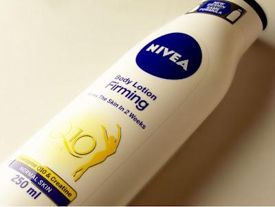 Nivea body firming lotion