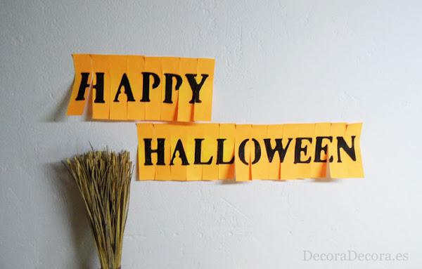 Decoracion oficina Halloween