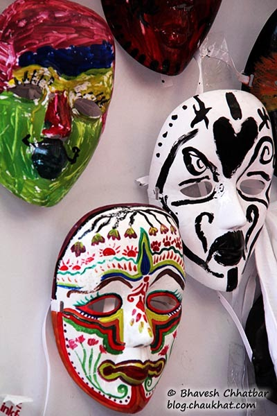 Kala Ghoda - Hand painted masks