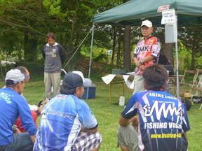 表彰式 冠「HMKL」様サポート 松坂選手挨拶2
