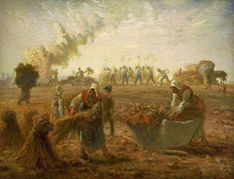 Jean-François Millet - Buckwheat Harvest - Summer