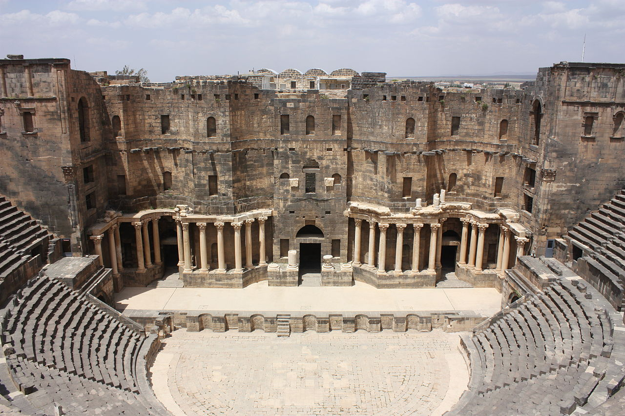 Near East: UN condemns destruction at major World Heritage site of Bosra