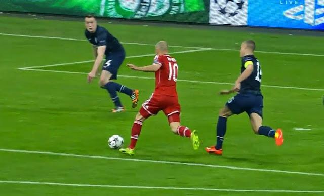 Robben, Bayern Munich - Manchester United