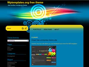 ColorfulThing WP Theme