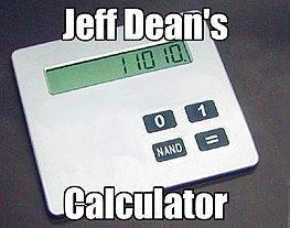 Калькулятор Джеффа Дина