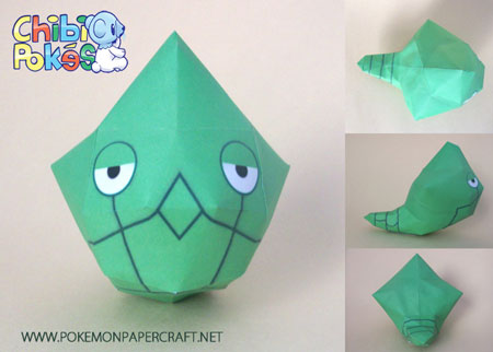 Chibi Metapod Papercraft